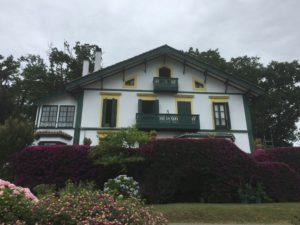 Fachada rehabilitada en Gijón